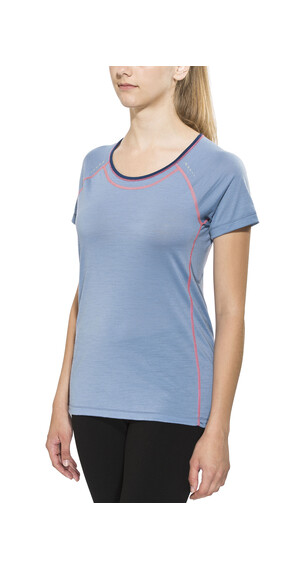 Smartwool PhD Ultra Light Short Sleeve Women Blue Steel